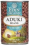 Eden Foods Organic Aduki Beans - (Case of 12 - 15 oz)