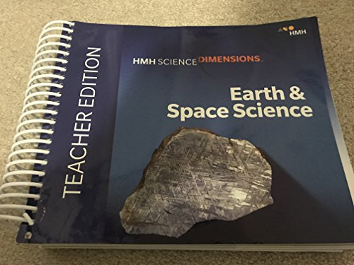 HMH Science Dimensions Earth & Space Science Teacher Edition 2018