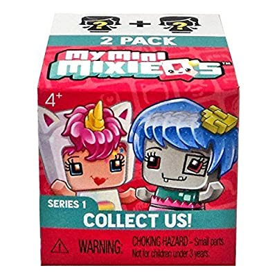 Set of 2: My Mini MixieQ's Mystery Pack -- Series 1: Toys & Games