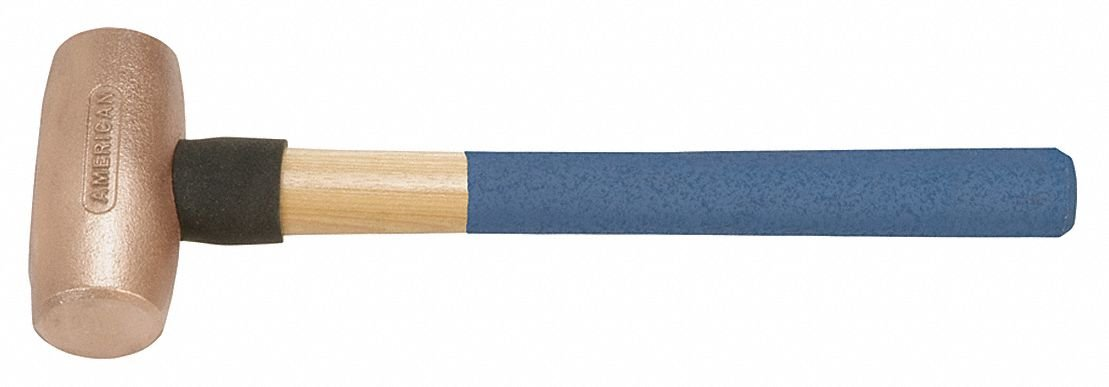 Double Face Sledge Hammer, 5 lb. Head Weight, 2-1/2'' Head Width, 22'' Overall Length