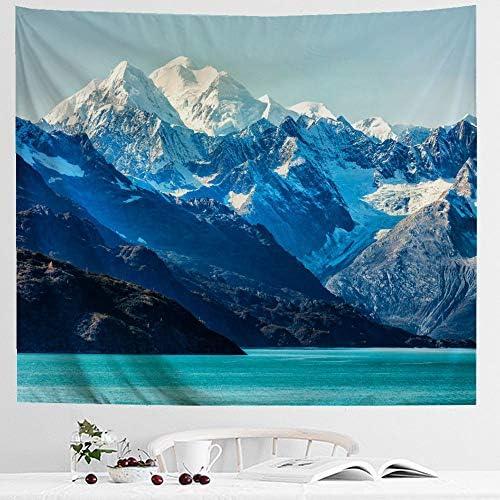 IcosaMro Mountain Tapestry Landscape Double Folded