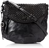 Elliott Lucca Bali 89 Intreccio Flap Zip Cross Body,Aztec Black/Copper,One Size, Bags Central