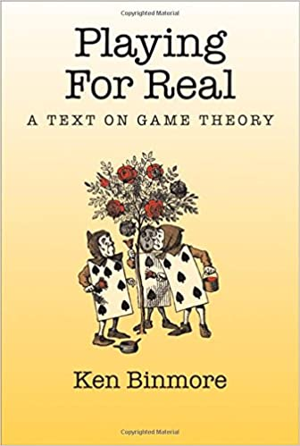 Playing for real a text on game theory 9780195300574 economics playing for real a text on game theory 1st edition fandeluxe Choice Image