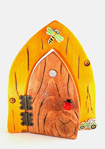 The Classic Collection: Mustard & Natural Fairy Door