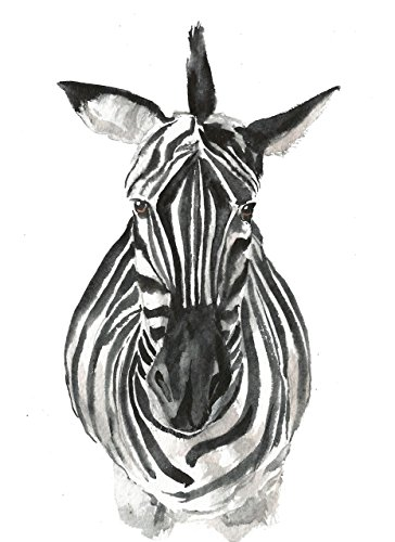 Zebra art #A020. Zebra art print (8x10).Zebra wall art.Zebra picture art.Zebra painting.Zebra face.Safari animals wall art.Zebra pictures for bedroom.Zebra print wall decor.Zebra pictures.