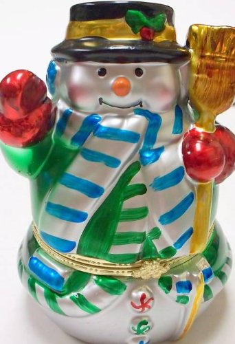 Mr. Christmas -  Metallic Porcelain Music Boxes (6