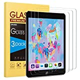 [3 Pack] Screen Protector for iPad 9.7 (2018 & 2017) iPad Pro 9.7 - SPARIN Tempered Glass with Apple Pencil Compatible Ultra Clear Scratch Resistant