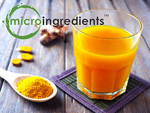 Organic Pure Curcumin Powder (Natural Turmeric Extract and Turmeric Supplements), Rich in Antioxidants & Immune Vitamin, Best Supplements for Joint & Immune System Support, 50 Gram, Vegan Friendly.