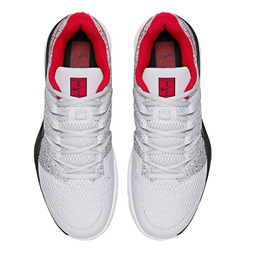 NIKE Men's Zoom Vapor X Tennis Shoes Pure Platinum/Habanero Red/Black buy cheap best sale cheap price top quality free shipping browse outlet enjoy best prices for sale sqXe0A