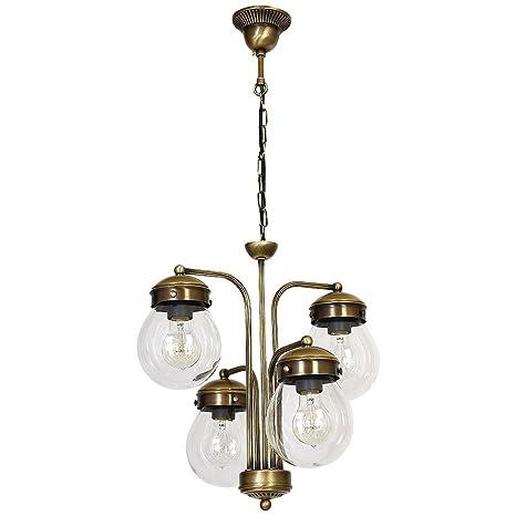 Forma Bonita lámpara colgante (Profundidad hasta: 0,8 m, 4 ...