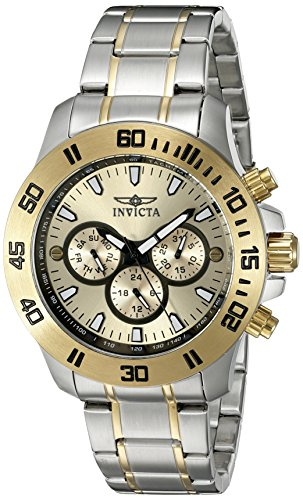 Invicta Men's 21484 Specialty Analog Display Swiss Quartz Two Tone Watch