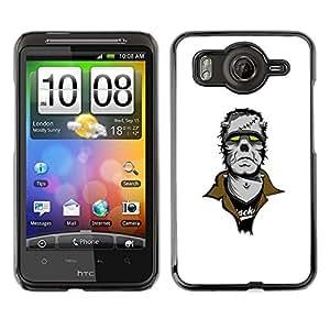 EJOY---Cubierta de la caja de protección la piel dura para el / HTC G10 / --Punk Frankenmonster