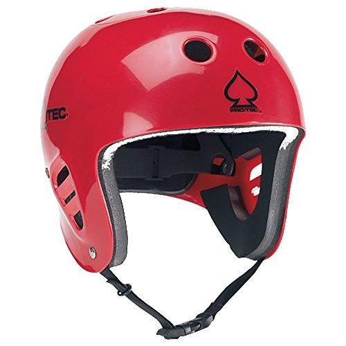 PROTEC Original Pro-tec The Full Cut Water Helmet, Gloss Red, X-Large