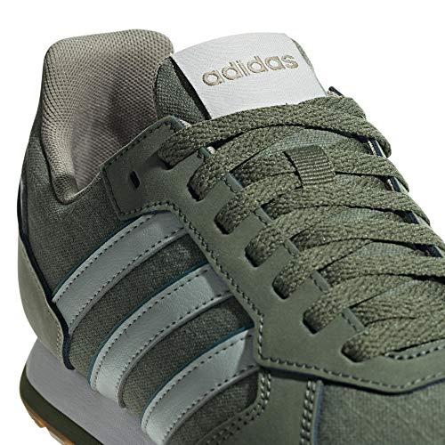 Zapatillas para Tracar de Verde 8k Ashsil Tracar Basgrn Adidas Hombre Entrenamiento Ashsil Basgrn BwASx5qU5