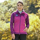 Mountain Horse Women's Cortina Softshell Jacket Purple Large US