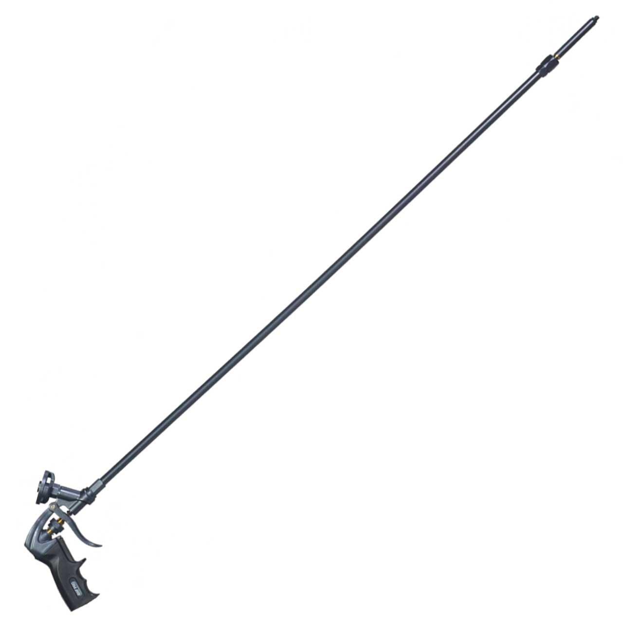 Pro Foam Gun, 40 inch (100 cm) Barrel, Swivel Tip, Teflon Coated, One Hand Adjustment, AWF Pro