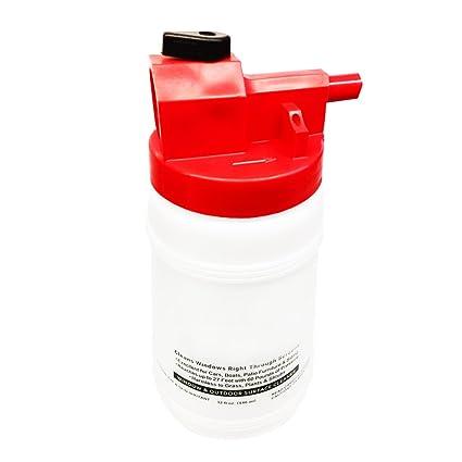 QIND Limpiador de Ventanas de Cristal, Botella de Spray de Limpieza de plástico, Limpia