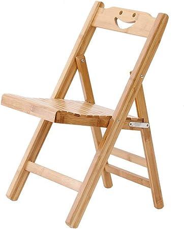 Chaises pliantes en bois massif, sièges de chaise pliante