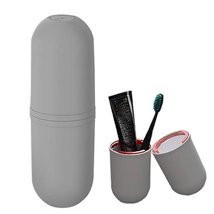 Vaso del viaje juegos, OCHO8 vasos creativo para cepillo de dientes y pasta de dientes