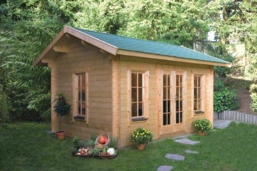 Skan Holz Blockbohlenhaus Montreal 1 70plus, 420 x 300 cm