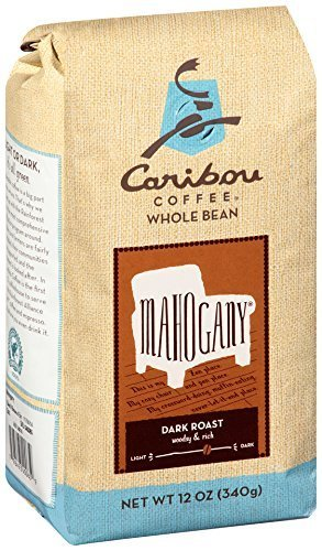 Caribou Coffee Mahogany Strong Bean, 12 Ounce Bag by Caribou Coffee