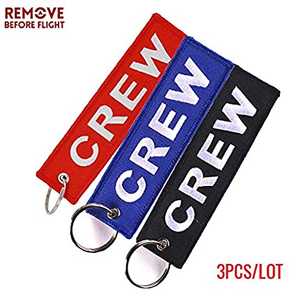 Amazon.com: Key Rings 3PCS Mix Color Crew Key Chain OEM ...