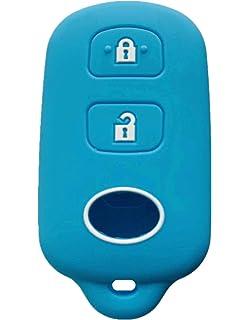 KAWIHEN Silicone Keyless Entry Smart Remote Key Fob Cover Protector For Scion xA xB 4Runner Avalon Camry Corolla Highlander RAV4 Sequoia HYQ12BBX HYQ12BAN HYQ1512Y 1511A-12BBX 89742-42120 89742-0C020