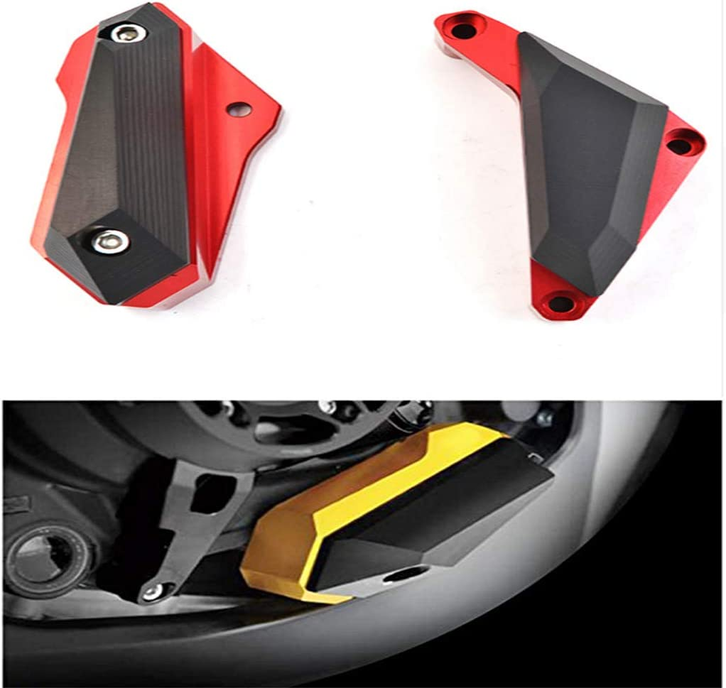 Black Universal Motorcycle Frame Sliders Anti Crash Protector Compatible With YAMA-HA YZF R25//R3//R3 ABS Frame Sliders