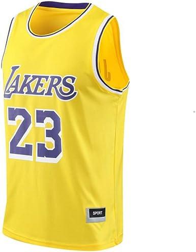 Conjunto De Camisetas De Baloncesto para Hombre - NBA Lakers # 24 Uniforme De Baloncesto Camisa Bordada De Verano Chaleco Shorts: Amazon.es: Ropa y accesorios