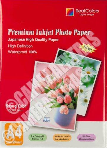 260 g A4 seidengl/änzend Druckerpapier f/ür Inkjet-Fotodrucker