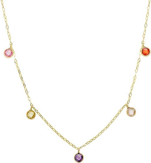 Alda Collier pour femme en or 18 carats 40 cm