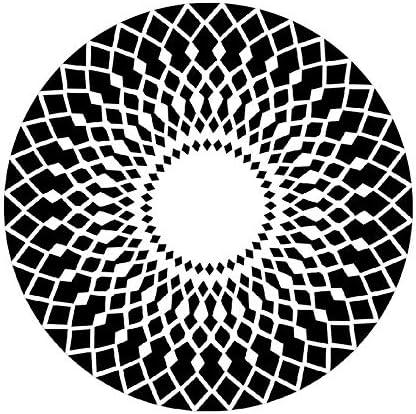 Alfombra Alfombra Redonda Sala de Estar Alfombra Dormitorio Alfombra Mesita de Noche Alfombra Mesa de Centro Cojín para computadora Algodón Spinning (Color : Black, Size : 120cm): Amazon.es: Hogar