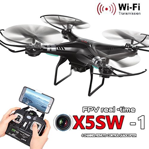 LandFox-X5SW-1-Wifi-FPV-RTF-24G-4CH-RC-Black-Quadcopter-Camera-Drone-With-HD-Camera-UAV