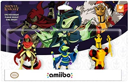 Yacht Club Games - Shovel Knight, Pack De 3 Figuras Amiibo: Amazon ...