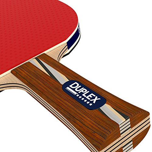 Duplex 6 Star Ping Pong Paddle Best Professional Table