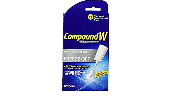 Compound W Freeze Off Wart Remover-8 applications: Amazon.es: Salud y cuidado personal