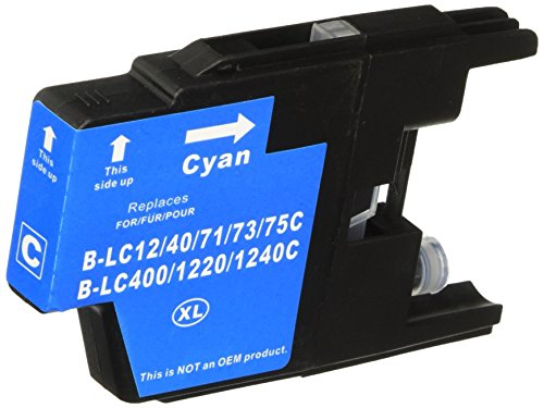 Premium Compatibles Inc. LC75C-RPC Replacement Ink and To...