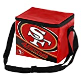 FOCO NFL Big Logo Stripe 6 Pack Cooler