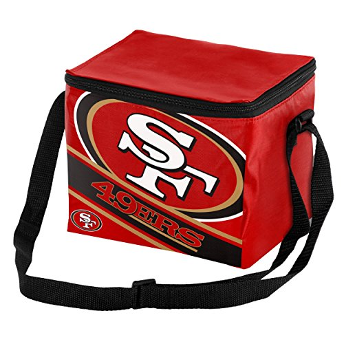 FOCO NFL Big Logo Stripe 6 Pack Cooler – DiZiSports Store