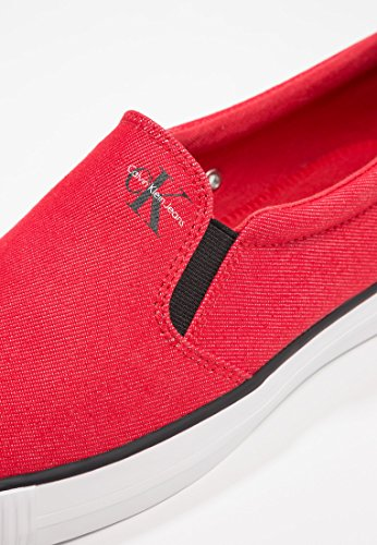 Slip On Rosso Jeans Calvin Red Klein S1488 Armand Uomo 5pqUw4nfO