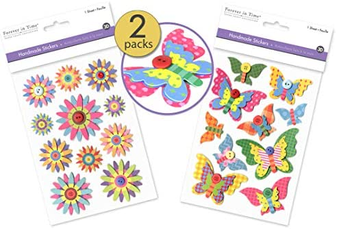 Embellishments Buttons Stickers