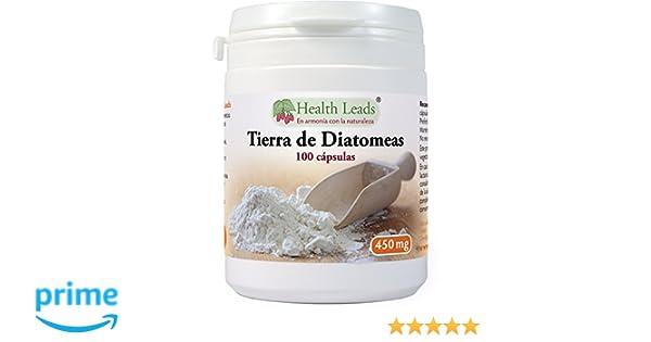 Tierra de diatomeas 450mg x 100 Capsulas: Amazon.es: Salud y cuidado personal