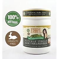 Pride Of India - Indian Aloevera (Aloe Barbademsis) Herbal Hair & Skin Care Powder...