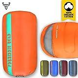 sleeping bag - Forbidden Road Sleeping Bag Single Sleeping Bag (5 Color) (Orange, Single)