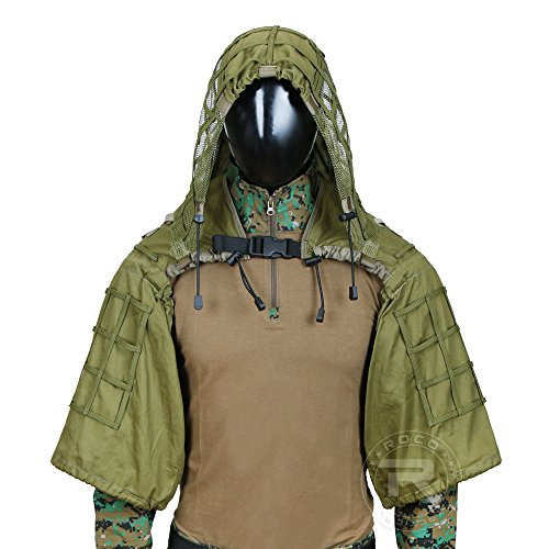 Best Ghillie Suit Ponchos - Tactical Sniper Ghillie Suit Lightweight Hunting