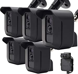 Skyworld Blink XT XT2 Camera Wall Mount Bracket, Weather Proof 360° Protective Housing Cover and Adjustable Wall Mount Bracket for Blink XT2 Indoor/Outdoor Home Security Camera System (5Pack)