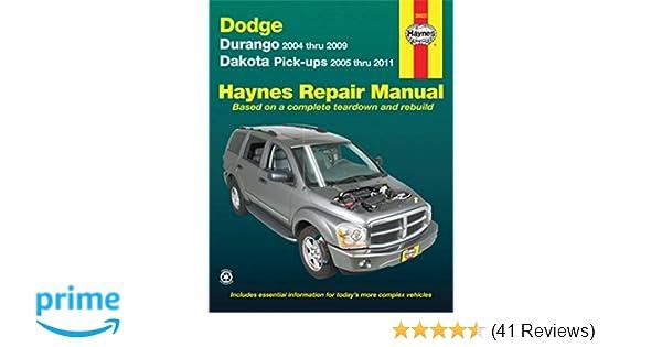 dodge dakota 2009 manual
