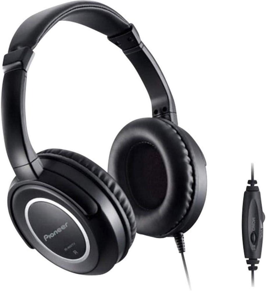 Pioneer SE-M631TV Auriculares de diadema con reproducción optimizada de Blu-ray, Negro: Pioneer: Amazon.es: Electrónica
