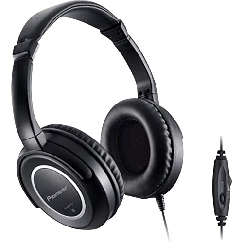 Pioneer SE-M631TV Fully Enclosed Headband Headphones for TV Connectivity with 5m Cord