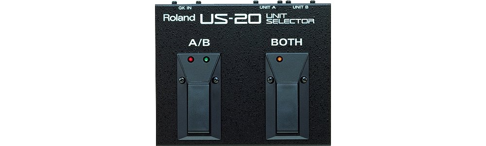 Roland US-20 A/B/Y Type Unit Selector Floor Pedal by R O L A N D